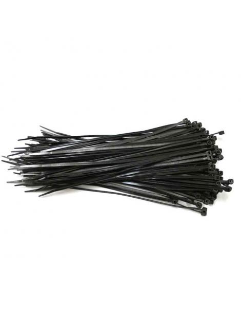 Brida nylon negra 7.8-450 mm bolsa 100 uds