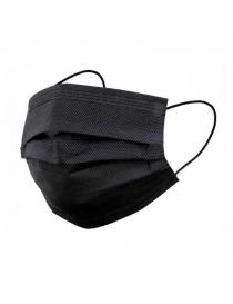 Mascarilla Quirúrgica Negra Pack